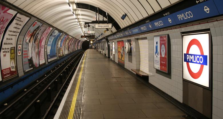Pimlico Tube Station London